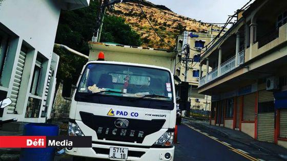 Pad Co Ltd suspendue aux contratsdu gouvernement pour 5 ans