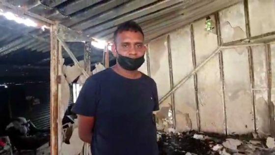 Incendie criminel à Batimarais :«Li bizin pey konsekans so aksyon», lâche Ashwan, le frère du suspect
