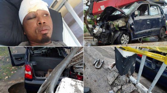Un mort à Pointe-aux-Sables -Élize, un rescapé : «Le chauffeur roulait très vite…»