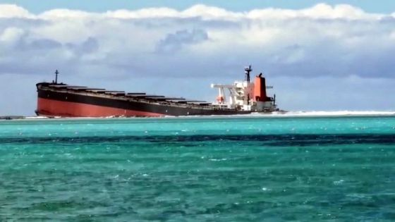 Sabordage du MV Wakashio : aucun risque de pollution pour La Réunion, selon un expert français