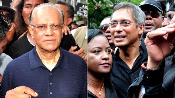 Manifestation: Navin Ramgoolam et Xavier-Luc Duval présents dans la foule, mais pas ensemble