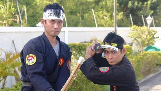 Gérald and Gilbert Koon : twin brothers master the art of the Ninja