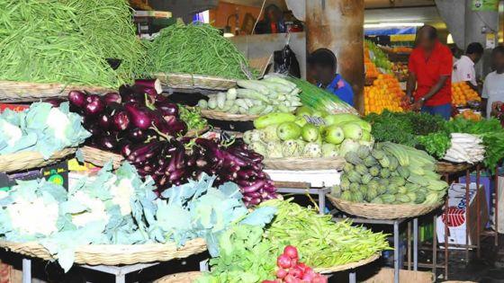 Les légumes importés surles étals des marchés ce lundi