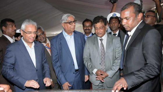Pose de la première pierre : un nouveau bâtiment pourla MRA au coût de Rs 650 M