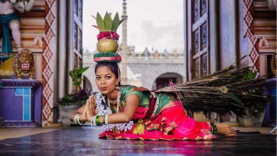Portrait : Eswaree Chellygadoo, la fée de la danse du feu
