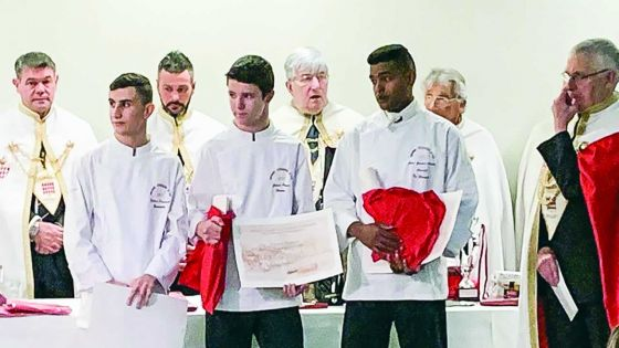 Grand Cordon d'Or de la cuisine française : Olivier Jean Gerald Laurent 4e exæquo