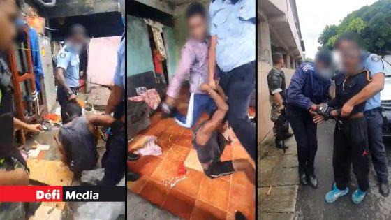 Brutalités policières alléguées - Quatre policiers entendus : une arrestation