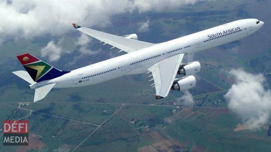 South African Airways étend ses billets jusqu'à mars 2022