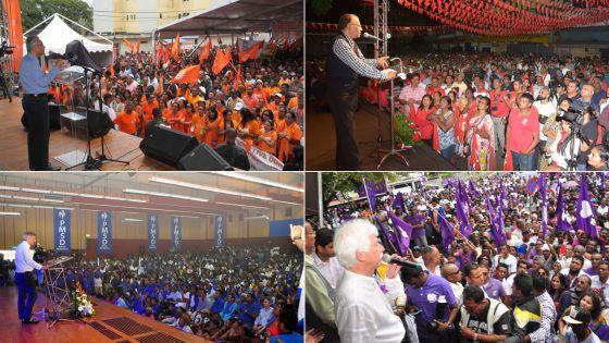 L'organisation des meetings du 1er Mai : Rs 15 millions pour la guerre des foules !
