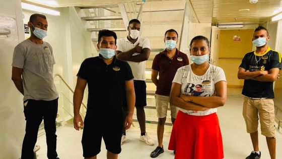 70 Mauriciens bloqués dans le port Rashid, à Dubaï
