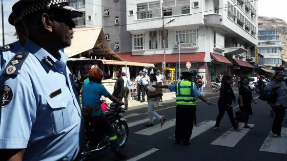 Lancement d'une Police Field Hour: le CP Mario Nobin descend sur le terrain