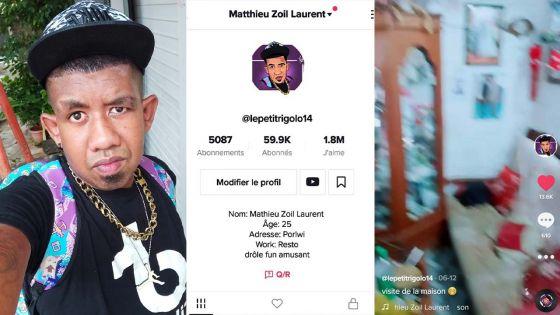 Matthieu Zoil Laurent :le petit rigolo de TikTok