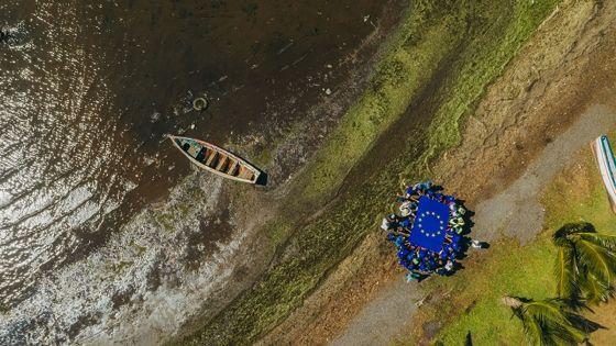 Initiative de l'Union Européenne et de la Tourism Authority: lancement de la campagne «Nou lagonnou leritaz, ensam anou protez nou laplaz»