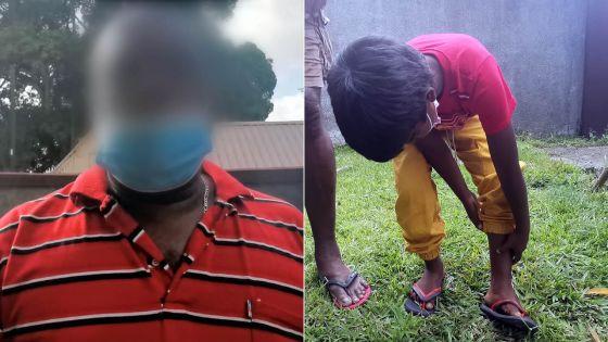 Maltraitance alléguée envers un enfant de six ans -Son grand-père : «Mama la ti kapav tir so lizie»
