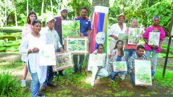 Journée Internationale de l'Aquarelle à Maurice : flash sur le jeune public mauricien
