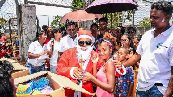 Noël célébré pour des enfants défavorisés par Tayelamay