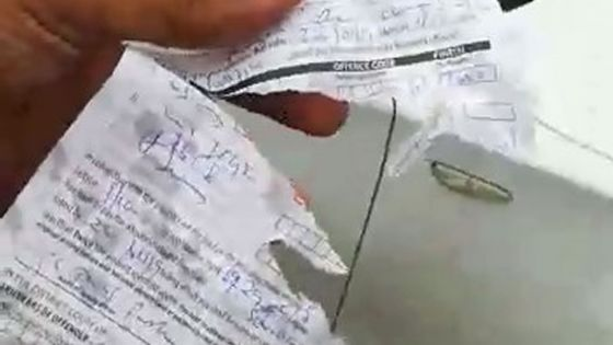 Trafic routier : un jeune accuse un policier de lui avoir servi un PV déchiré