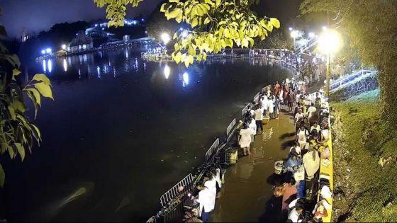 Maha Shivaratree : les téléphonesde pèlerins volés