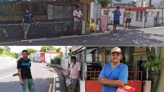 Mgr Leen : des habitants attendent le pain de Copain