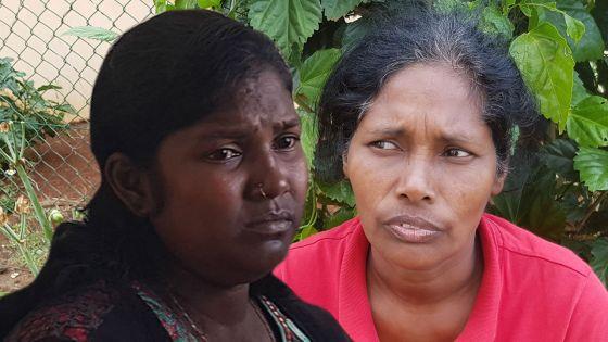 Kushboo, la mère de Ritesh, et Reshmi Sumboo, la compagne de Sachin Tetree