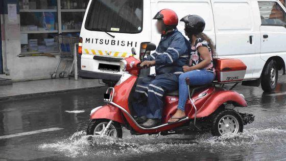 Pluviométrie en 24 heures : 142 mm de pluies enregistrées du côté de la Montagne des Signaux
