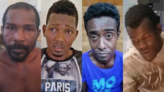 Dans le Sud : quatre voleurs présumés arrêtés