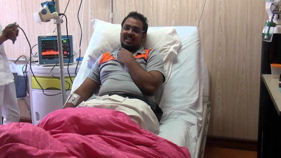 Atteint de dystonie généralisée : Neetish Choudkoury s'est envolé pour l'Inde