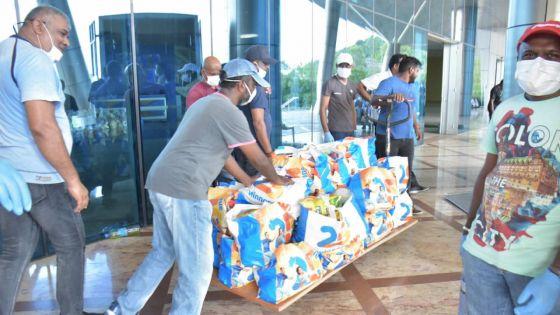Récupération des packs de denrées alimentaires : le transport pose problème, se plaint un Curepipien