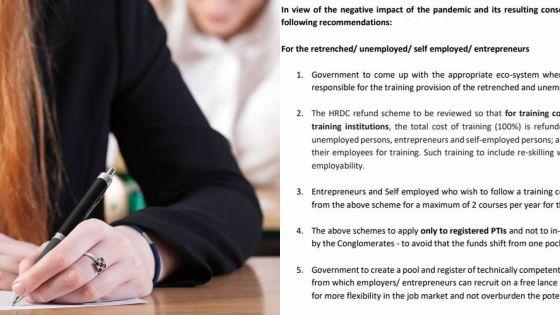 Dans une lettre ouverte : l'Association of Registered Private Training Institutions fait plusieurs propositions au PM