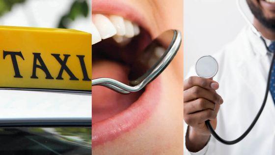 Tests de dépistage : Au tour des chauffeurs de taxi, dentistes et médecins du privé ce samedi