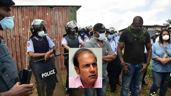 Ordre d'expulsion : «Swa nou les ban squatters la pran pei la swa otorite azir…ek otorite pe azir», dit Obeegadoo