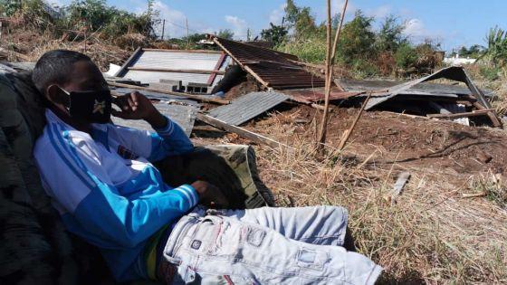 Démolition des maisonnettes des squatters à Pointe-aux-Sables : «Je déplore cette façon inhumaine», affirme Fabrice David