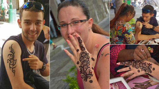 Le bonheur d'être tatoué au henné