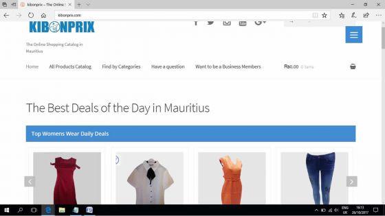 Internet - Kibonprix : la vitrine en ligne des commerces mauriciens