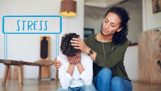 En marge des examens : comment gérer le stress chez les enfants