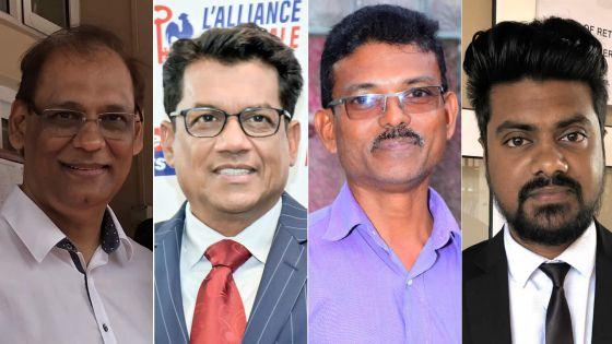 Législatives 2019 - No 11 : la parole à Seeruttun, Jeetah, Kissoondoyal et Munbodh
