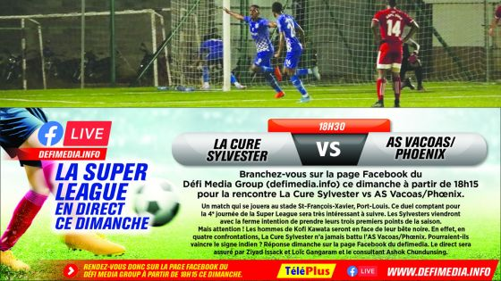 Super League – 4e journée : Li Tien Kee offre la victoire à Pamplemousses SC