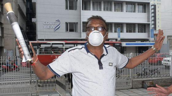 Emergency Procurement pour des masques : Bissoon Mungroo libéré sous caution