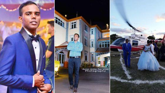 M.K.S Multipurpose Hall : A 22 ans, Jhaanveeraj Syjadhur dirige avec passion son entreprise