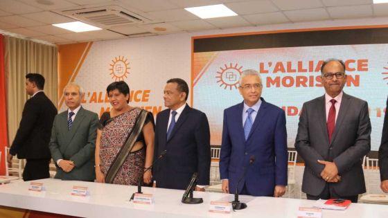 Présentation des candidats de l'Alliance Morisien : «Nous remarquons dans la liste des candidats d'anciens membres du MMM», dit Collendavelloo