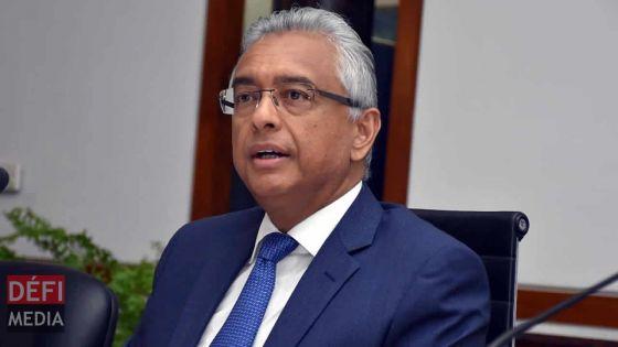 Pravind Jugnauth veut débattre avec tous les prétendantsau fauteuil de Premier ministre