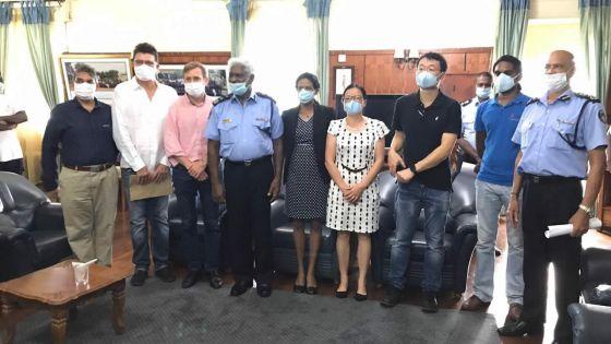 Covid-19 -Solidarité : l'association des exportateurs apporte leur soutien aux policiers