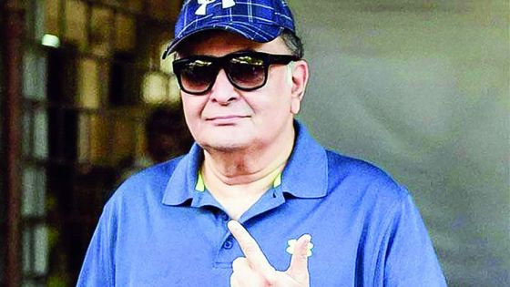 Rishi Kapoor parle de son cancer : «Dieu m'a donnéune seconde chance...»