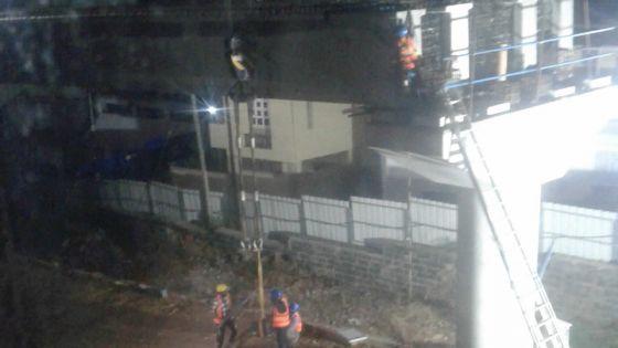 Metro Express : les travaux nocturnes dérangent à La Butte