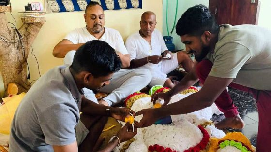 Marday Sivaramen et son Ganesha 'eco-friendly'