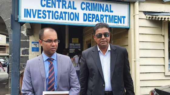 CCID : Me Ashley Hurhangee porte plainte contre Shameem Korrimboccus