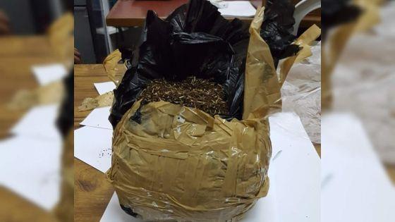L'Adsu trouve 1,4 kg de drogue synthétique sur un terrain boisé à Péreybère