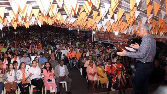 Circonscription no 17 -Pravind Jugnauth: «Pour continuer le progrès, votez bloc»