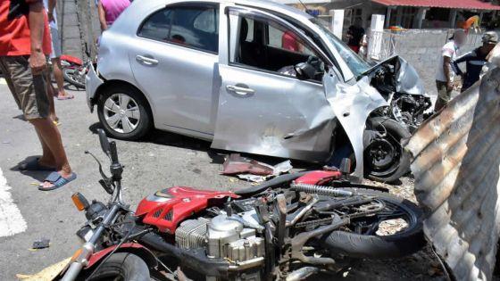 Voiture folle à Port-Louis : un chauffard ivre de 69 ans fait six blessés
