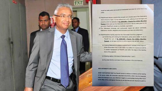 [Document] Angus Road : voici la plainte de Pravind Jugnauth dans son intégralité